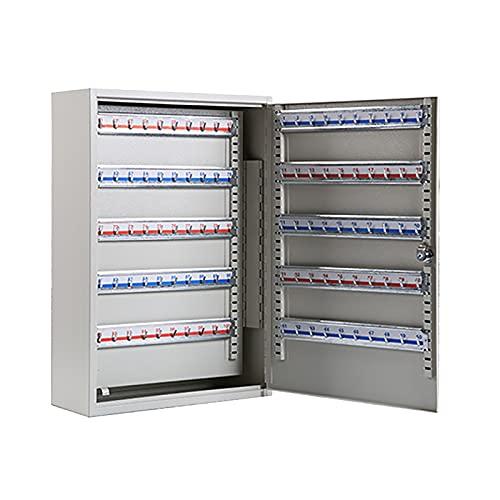 QSJY Caja de Bloqueo para Llave de la casa (200 bits, Calidad de Metal, sin Etiqueta de Llave, Caja de Llaves montada en Pared Compatible con Llave de 5-8 cm) (Color : 200, Size : 55×38×14cm)
