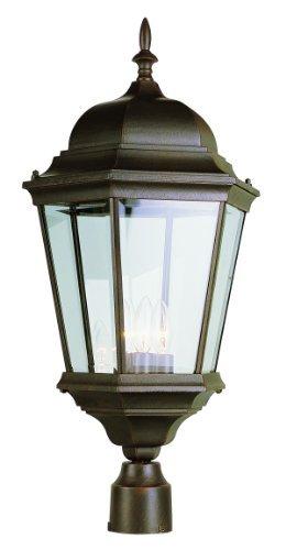 Bel Air Lighting 51001 WH 3-Light Post Lantern by Bel Air Lighting