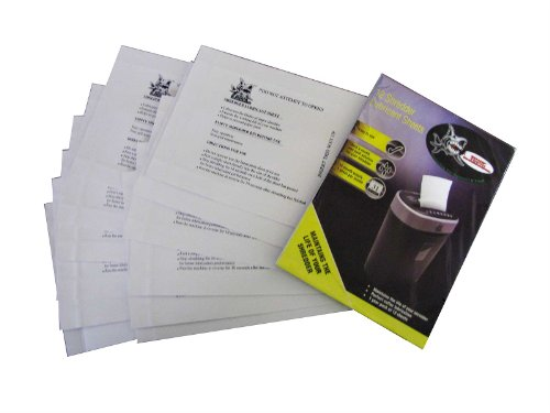 Buy Discount Sharp Tooth SHREDDERS Lubricant Sheets for Document Shredders - Pack of 12