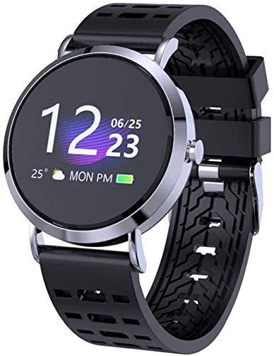 JSL Reloj inteligente con pantalla táctil IP67, resistente al agua, con monitor de frecuencia cardíaca, monitor de actividad, monitor de sueño, cronómetro