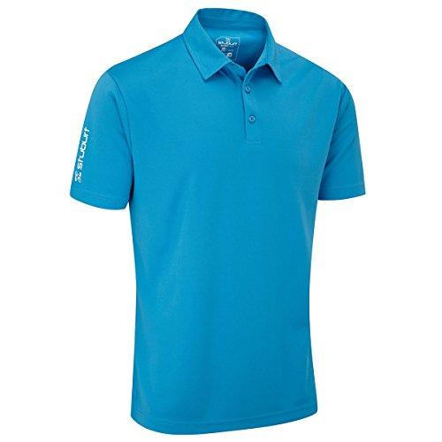 Stuburt Sbts453 Polo pour Homme XL Bleu Bondi