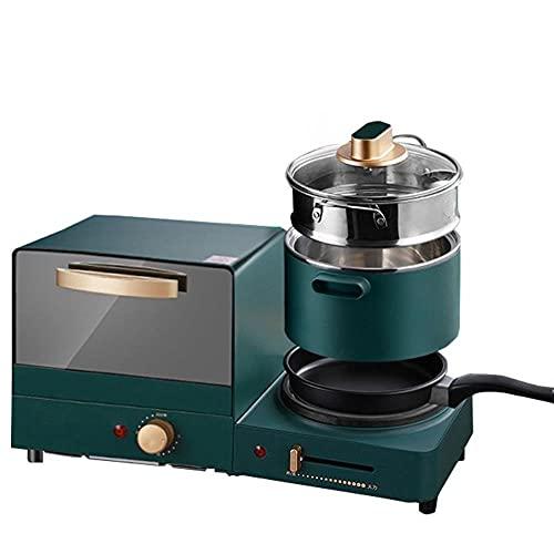 4 en 1 Tostadora eléctrica de la máquina del desayuno del hogar,...