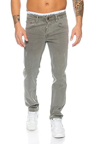 Rock Creek Herren Jeans Grau RC-2097 [W32 L32]