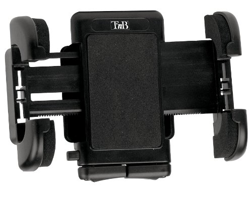 Oferta de T'nB Soporte para Todo Tipo de Dispositivos Electrónicos en el Coche - con Agarre Ajustable en Rejillas de Ventilación y Rotación 360º.