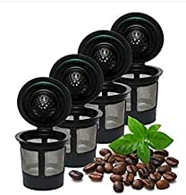 Rugado Reusable solo single cup Keurig filter k-cup stainless steel coffee filter
