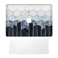 """Sepikey Newest Macbook pro 13 Inch カバー,全面保護 汚れに強い 耐久性 軽量 保護カ 全面保護 汚れに強い 耐久性 軽量 保護カ シェルカバーハードケース 専用 Macbook Pro 13"""" A1989/A1706/A1708 & キーボードカバー-WFG02"""
