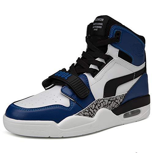 FHCGMX High-top Heren Winter Laarzen Mannen Warm Casual Heren Winter Schoenen Outdoor Fashion Laarzen Sneakers Wit Plus Maat 39-46
