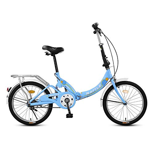 Folding Bicycles, Aluminum Alloy Bicycles, 20-inch Tires, Compact and Portable, Used for Commuting to Work, Suitable for Adults and Students/C/As Shown