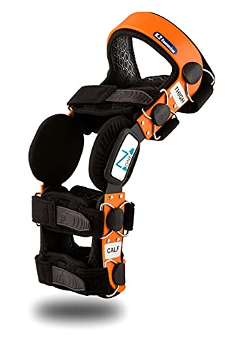 Z1 K2 Knee Brace – Best Knee Brace for ACL/Ligament Injuries/Sports Injuries, Arthritis (OA) & Preventive Protection & Relief from Knee Joint Pain/Degeneration- Men & Women S1(T=14-15.5'/C=9-10')