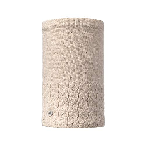 Buff BUF116002.328.10.00 Neckwarmer Knit Polar Elie Beige Unisex-Adult, Taille Unique