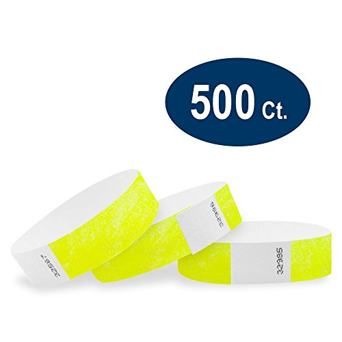 paper wristbands variety pack - 6