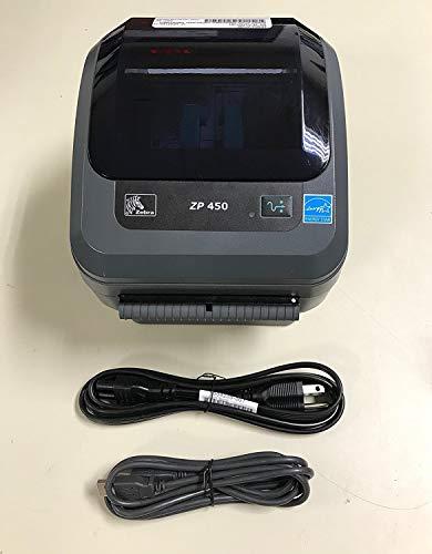 Zebra ZP 450 Label Thermal Bar Code Printer ZP450-0501-0000A (Renewed)