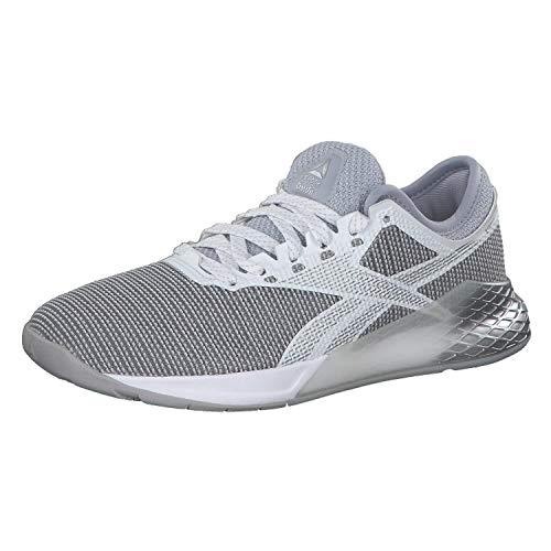 Reebok Damen Nano 9 Running Shoe, Cdgry2/Silvmt/White, 39 EU