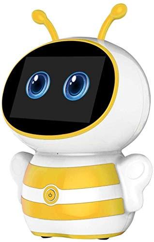 GQLB DIY Anime 3D-Modell DIY intelligente Roboter-Begleiter, Jungen-Mädchen-Spielzeug über 3 Jahre alt, Geschenk Intelligent Bildung Roboter, Puzzle Bildung Roboter Sprachsteuerung und Berühren, Tanz