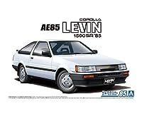 アオシマ ザ・モデルカー No.85 1/24 トヨタ AE85 カローラレビン 1500SR '85