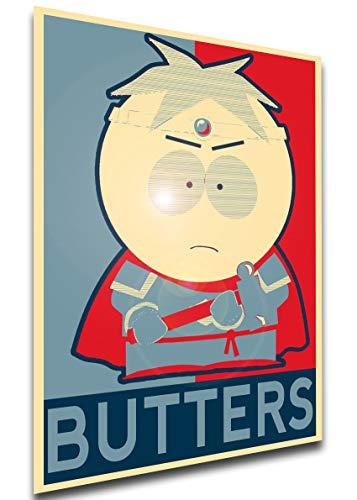 Instabuy Poster - Propaganda - South Park - Butters Merciful Paladin Manifesto 70x50