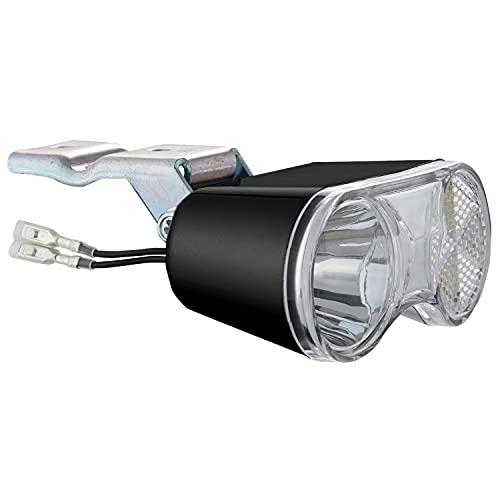 パナソニック(Panasonic) LEDハブダイナモ専用ライト[NSKL146]ブラック バスケット下取付タイプ