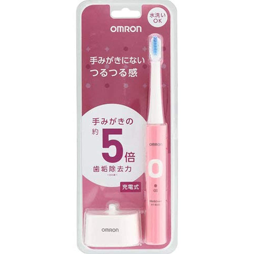 執着密度霧深いオムロン 電動歯ブラシ HT-B303-PK ピンク 充電式
