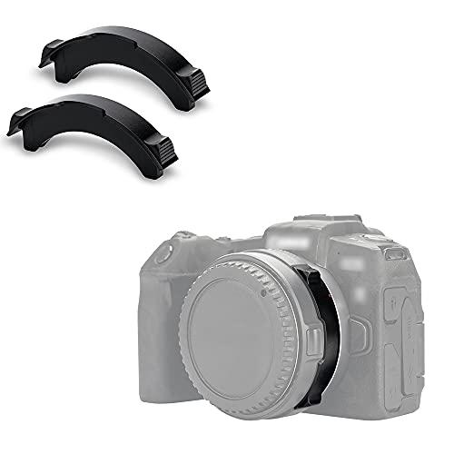 JJC - Tapa de adaptador de lente para Canon EF-EOS R Insertion Clear C-PL V-ND Adaptador de montaje de filtro, anti fuga de luz, protege el CCD / CMOS de la cámara (2 unidades)