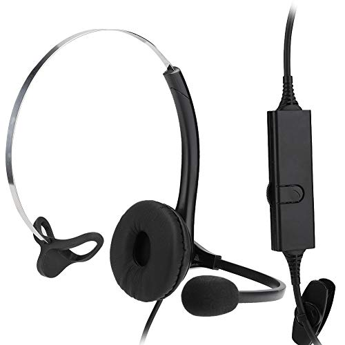 %9 OFF! Eboxer Call Center Headset Hand-Free Head-Mounted Headset, A16-RJ Customer Service Operator ...