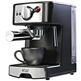 Russell Hobbs 190713A - 1250 Watt 15 Bar Pump Espresso, Filter and Cappuccino Coffee Machine (2 Years Manufacturer Warranty)
