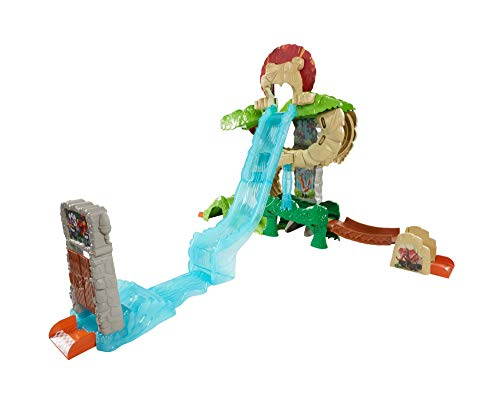 Fisher-Price - Blaze and The Monster Machines Isola Degli Animali Pista Circuito Acrobatico, DYN42
