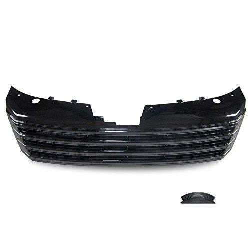 JOM Car Parts & Car Hifi GmbH 3AA853653OE Kühlergrill ohne Emblem, Hochglanz schwarz