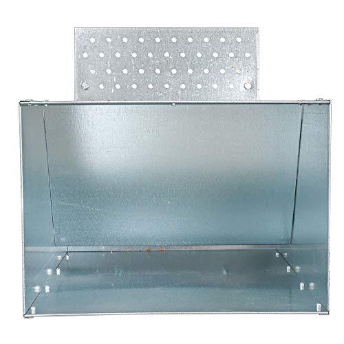 Futterautomat mit Trittklappe 25 kg - 3