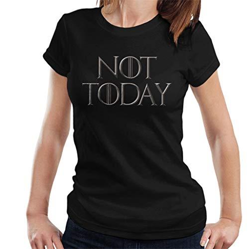 Game of Thrones Arya Stark Not Today Women's T-Shirt