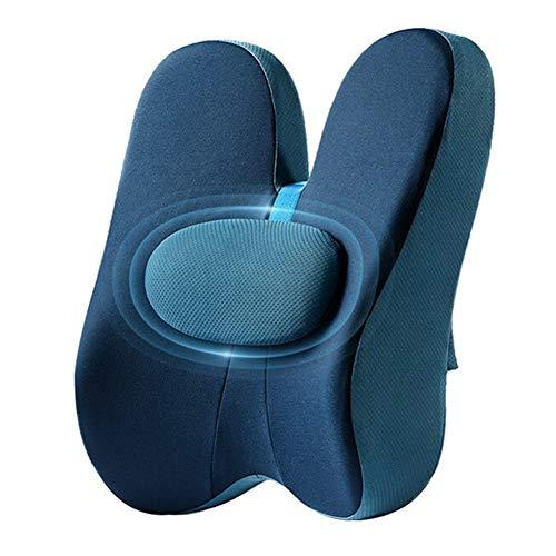 Cresciuto Cuscino Lombare, Almohada de Espalda Cojín de Cintura Ajustable Cojín de Oficina Cintura Mujer Embarazada Oficina de Estudiantes Silla de hogar Cojín de Espalda
