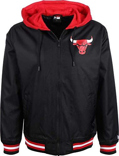 A NEW ERA Herren NBA Contrast Jacket Chibul, schwarz, L