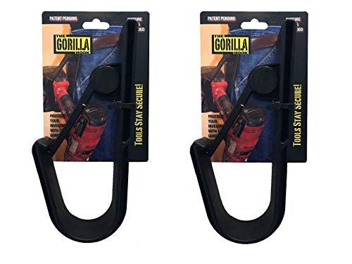 2 x Gorilla Hooks Ideal for Holding Screw Guns or Cordless Drill