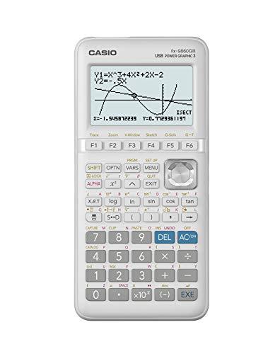 Casio-FX-9860GIII-Calculatrice-graphique-Argent-212-x-915-x-184-mm