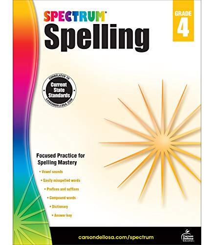 Spectrum | Spelling Workbook | 4th Grade, 208pgs