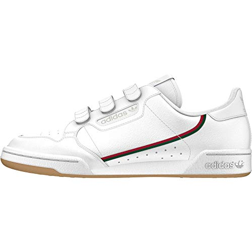 adidas Originals Continental 80 Strap Herren Sneaker, Größe Adidas:44 2/3