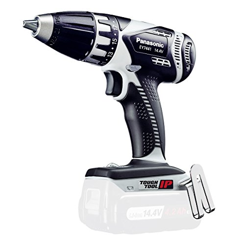 Panasonic EY7441X32 Cordless Drill black / white (without battery)