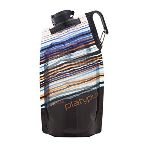platypus プラティパス デュオロックソフトボトル 0.75L オレンジスカイライン