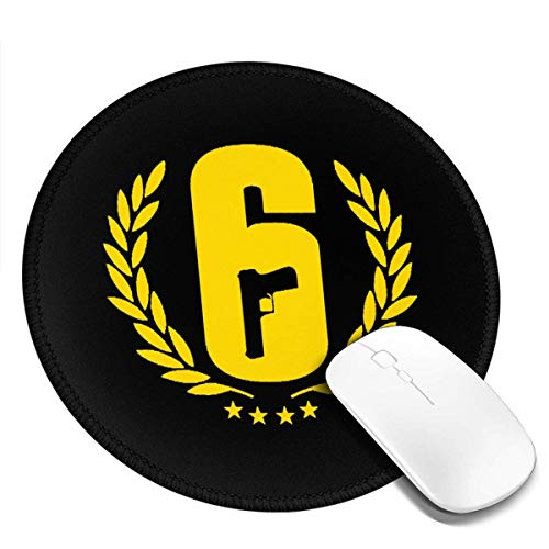 Rainbow-Six-Siege- Mouse Pad Anime Mouse Pad Non-Slip Rubber Base Mousepad for Computer, Laptop, Home, Office