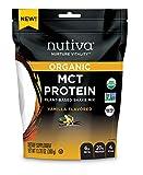Best Nutiva Vegan Protein Powders - Nutiva Organic MCT Protein Plant-Based Shake Mix, Vanilla Review
