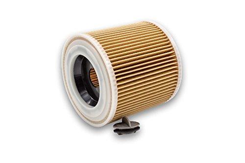 vhbw Patronen-Filter passend für Staubsauger, Saugroboter, Mehrzwecksauger Kärcher NT 27/1 ME Professional, NT 48/1 TE Professional