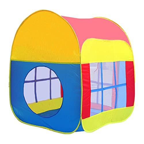 Sharplace Tenda da Gioco per Bambini, Tenda Pieghevole in Stile casa dei Cartoni Animati per Giochi al Coperto e all'aperto - Installazione Semplice