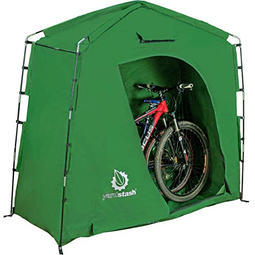 outdoor motorcycle storage shed