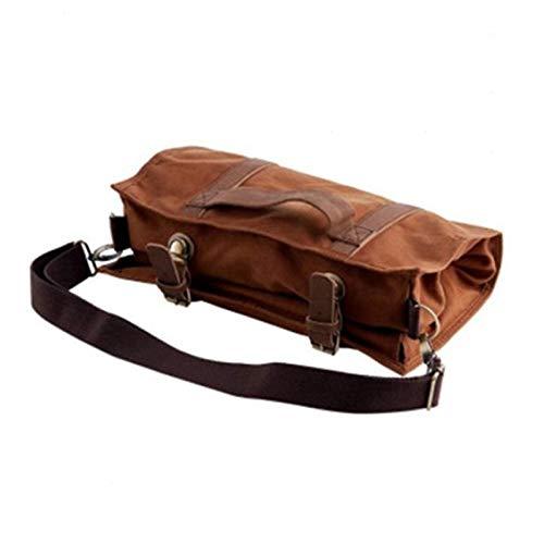 Bartender Tool Bag,Bartender Set Portable Tote,Workplace Cocktail Set Bolsa De Almacenamiento Enrollable para Llevar Picnics Y Viajes,Resistente al Agua y Duradero