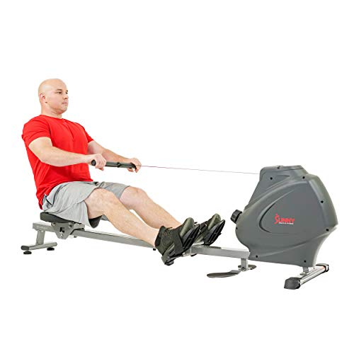Sunny Health & Fitness Multifunction SPM Magnetic Rowing Machine - SF-RW5941