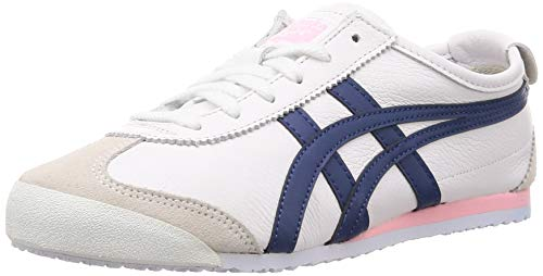 Onitsuka Tiger Sneaker Damen Mexico 66 1182A078 104 White Independence Blue, Schuhgröße:37.5