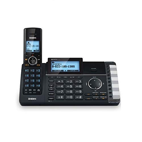 Uniden AT4401 2-Line Cordless Answering System with Smart Call Blocker