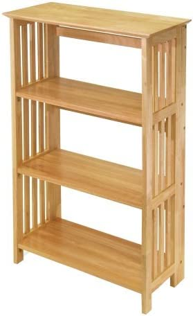 Mission Columbus Mall Cheap mail order sales Pine Wood Natural 36 Bookcase