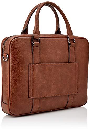 ALDO Men's PANDORO Briefcase, Cognac, ONE Size