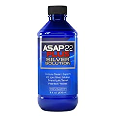 Twenty two Part Per Million of Silver Solution The patented silver solution that Dr. Pedersen recommends Strongest available Patent 7,135,195
