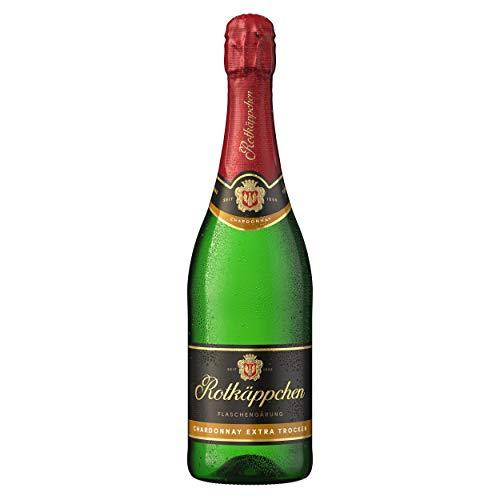 Rotkäppchen Sekt Flaschengärung Chardonnay Extra Trocken (1 x 0,75 l)